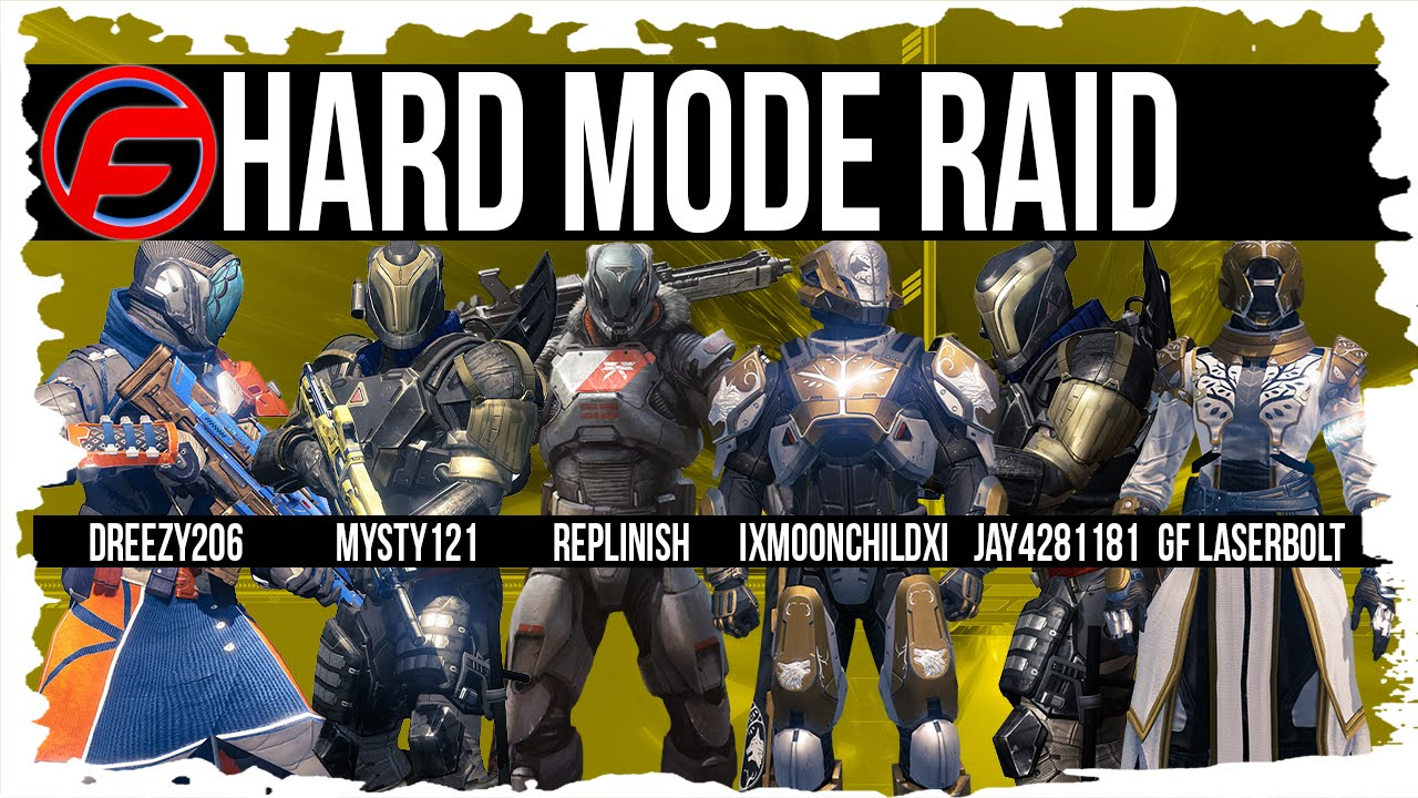 Destiny vault of glass raid hard live team commentary team run tactics