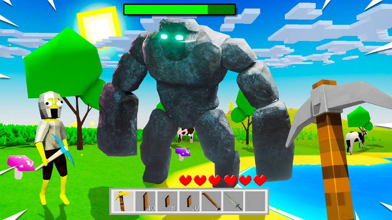Playing MINECRAFT 3.0 with CUSTOM BOSSES!