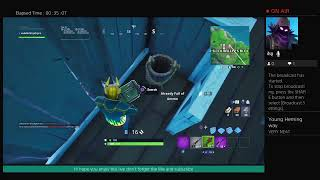 Playing fortnite season x #43 without talking sorry gys
