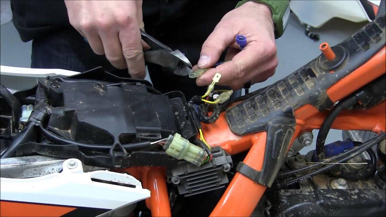 30704 Enduro Engineering HARNESS Installation  YouTube