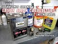 My Small Engine Shop Ultrasonic Cleaner & The Cleaning Solutions I Use