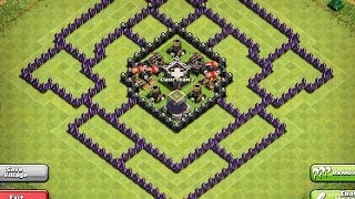 EPIC TOWN HALL 9 FARMING BASE ! Clash Of Clans !