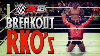 WWE 2K16 Breakout RKOs!