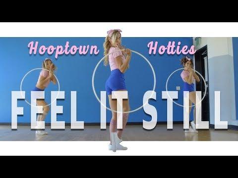 Portugal. The Man - Feel it Still  | Hooptown Hotties Choreography | Hula Hoop Dance