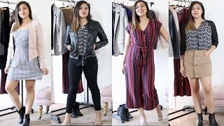 10 PIECES = 20 OUTFITS   BUSINESS CASUAL WARDROBE