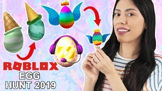 ROBLOX DIY: HOW TO MAKE the EGGS from EGG HUNT 2019!