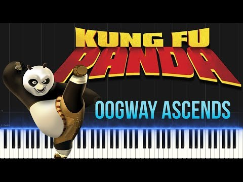 Kung Fu Panda - Oogway Ascends (Piano Tutorial Synthesia)