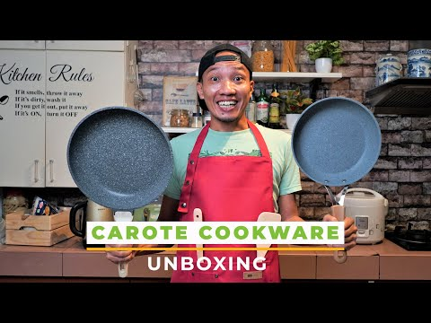CAROTE cookware UNBOXING