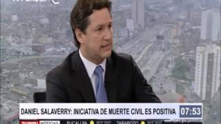 Entrevista al congresista de Fuerza Popular Daniel Salaverry