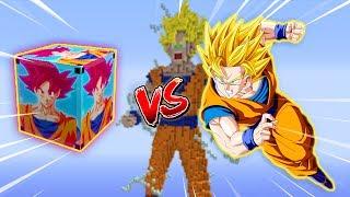 GOKU vs SAIYAJIN LUCKY BLOCK (MINECRAFT LUCKY BLOCK CHALLENGE) ‹ Frango ›