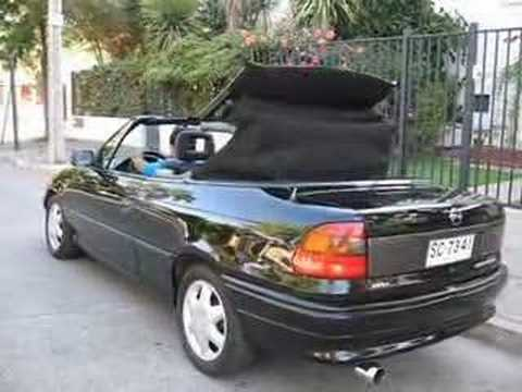 Opel Astra Cabriolet Convertible 1998 Youtube
