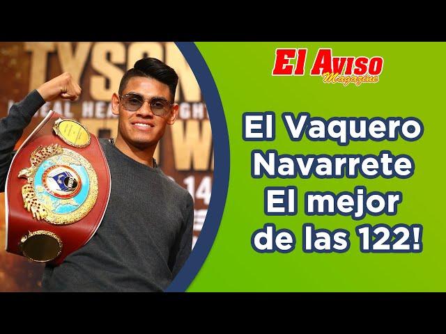 """Emanuel """"Vaquero"""" Navarrete nos dice si va por Rey Vargas y Danny Román o se va a las 126 libras."""