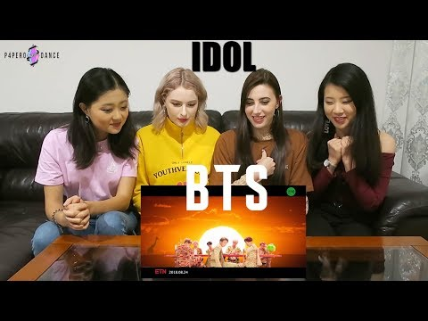 [MV REACTION] IDOL - BTS | P4pero Dance