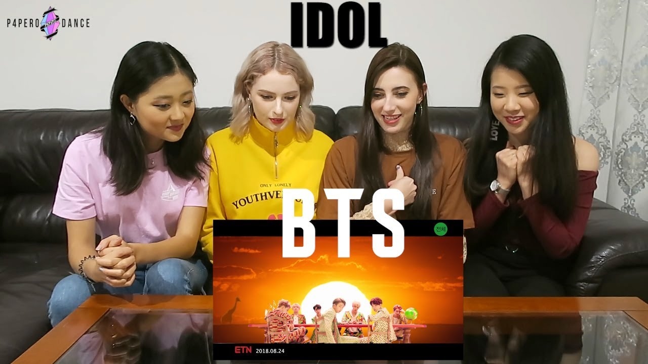 Mv Reaction Idol Bts P4Pero Dance