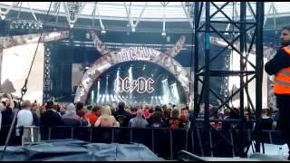 AC/DC - Back In Black em Londres 2016