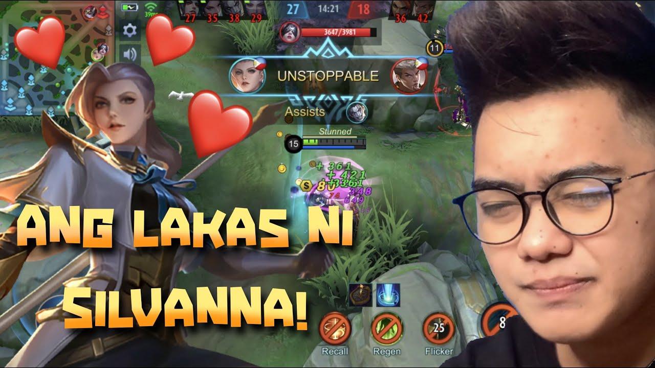 SILVANNA: Ang Pinaka Malupit na Fighter Hero Sa Mobile Legends! Wala Kang Takas!