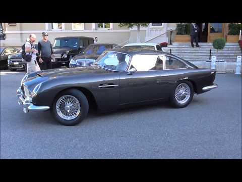 Casino Square Valet Struggles to Park Aston Martin DB5 in Monaco