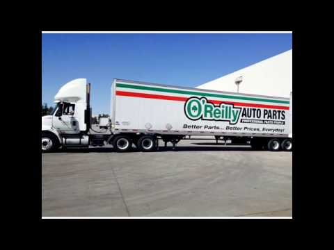 oreillys auto parts delivery driver pay