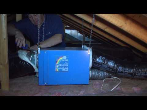 3100 air exchanger installation in basement of a house funnycat tv