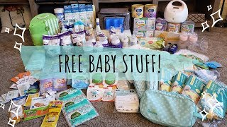 TONS OF FREE BABY STUFF & HOW I GOT IT ALL
