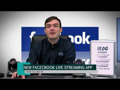 New Facebook Live Streaming App