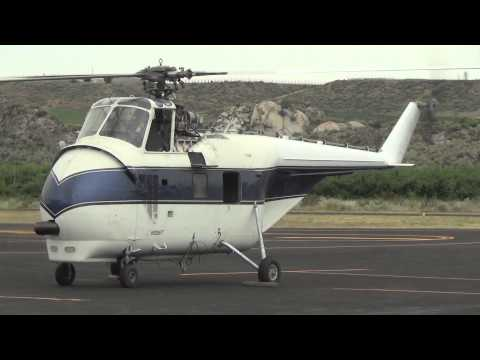 """A Sikorsky S55B doing a """"Shaky"""" engine run-up"""