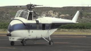 "Sikorsky S55B doing a ""Shaky"" Engine Run-Up"