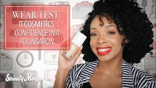 Wear Test: IT Cosmetics Confidence in a Foundation - NOT! (HONEST REVIEW)