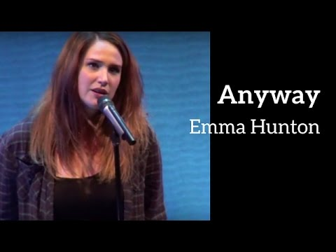 Emma Hunton - ANYWAY (Kerrigan-Lowdermilk)