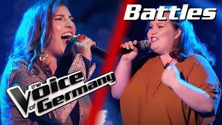 Lady Gaga & Ariana Grande - Rain On Me (Targol vs. Natalie)   The Voice of Germany   Battles