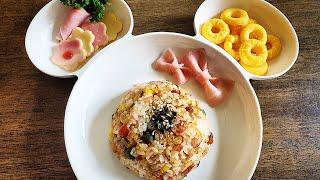 귀여운 도너츠모양 계란찜, 햄치즈꽃, 햄리본 만들기, …