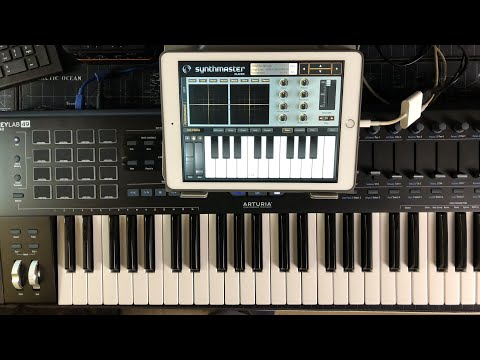 SynthMaster Player - The Most Iconic Synth Sounds In The World - Let's Play - iPad Live