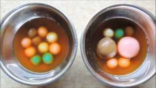 How To Make Tang Yuan (汤圆)/onde/sweet Glutinous Rice Ball/chewy Ball  (recipe) Dong Zhi (冬至)
