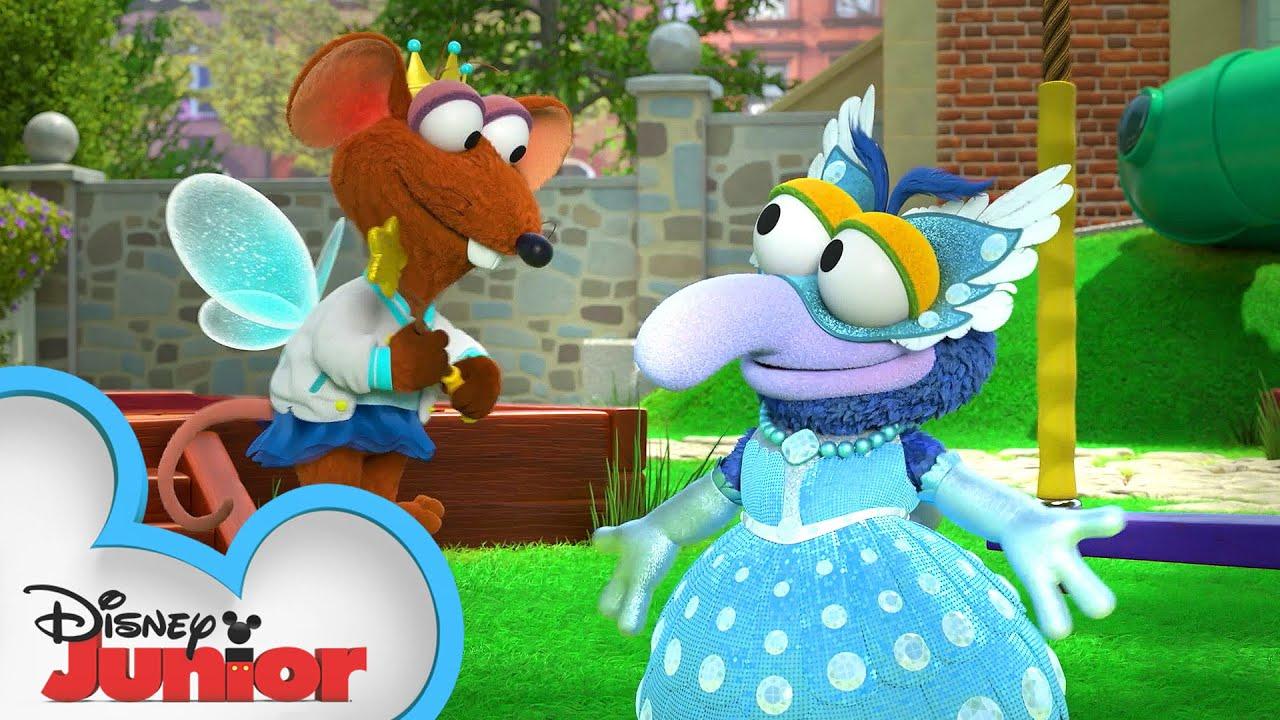 Gonzo-rella   Muppet Babies   @Disney Junior