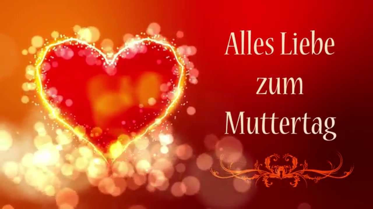 alles liebe zum muttertag motion graphics herz floral youtube. Black Bedroom Furniture Sets. Home Design Ideas