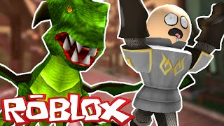 Roblox / Fight the Monsters / DRAGON ATTACK!! / Corl Plays!