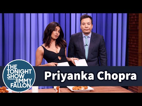 Priyanka Chopra and Jimmy Have a Wing-Eating Contest Mp3