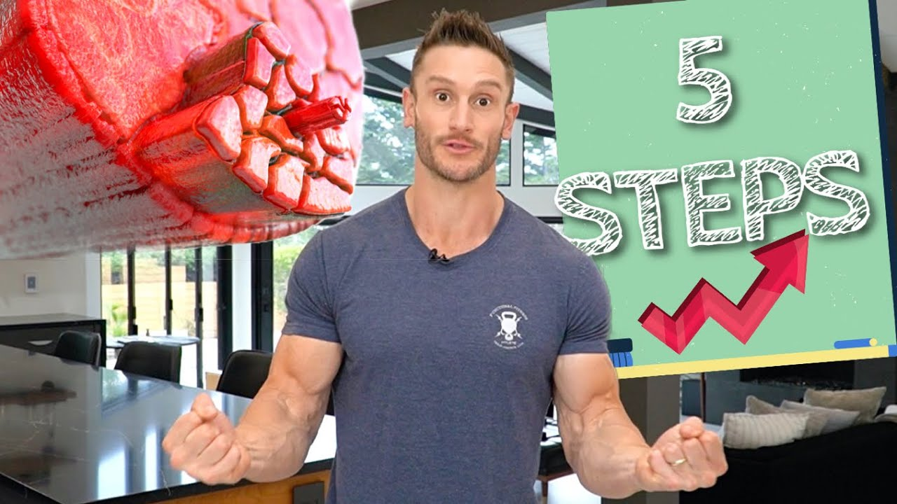 Follow My 5 Steps to Build Muscle on Keto