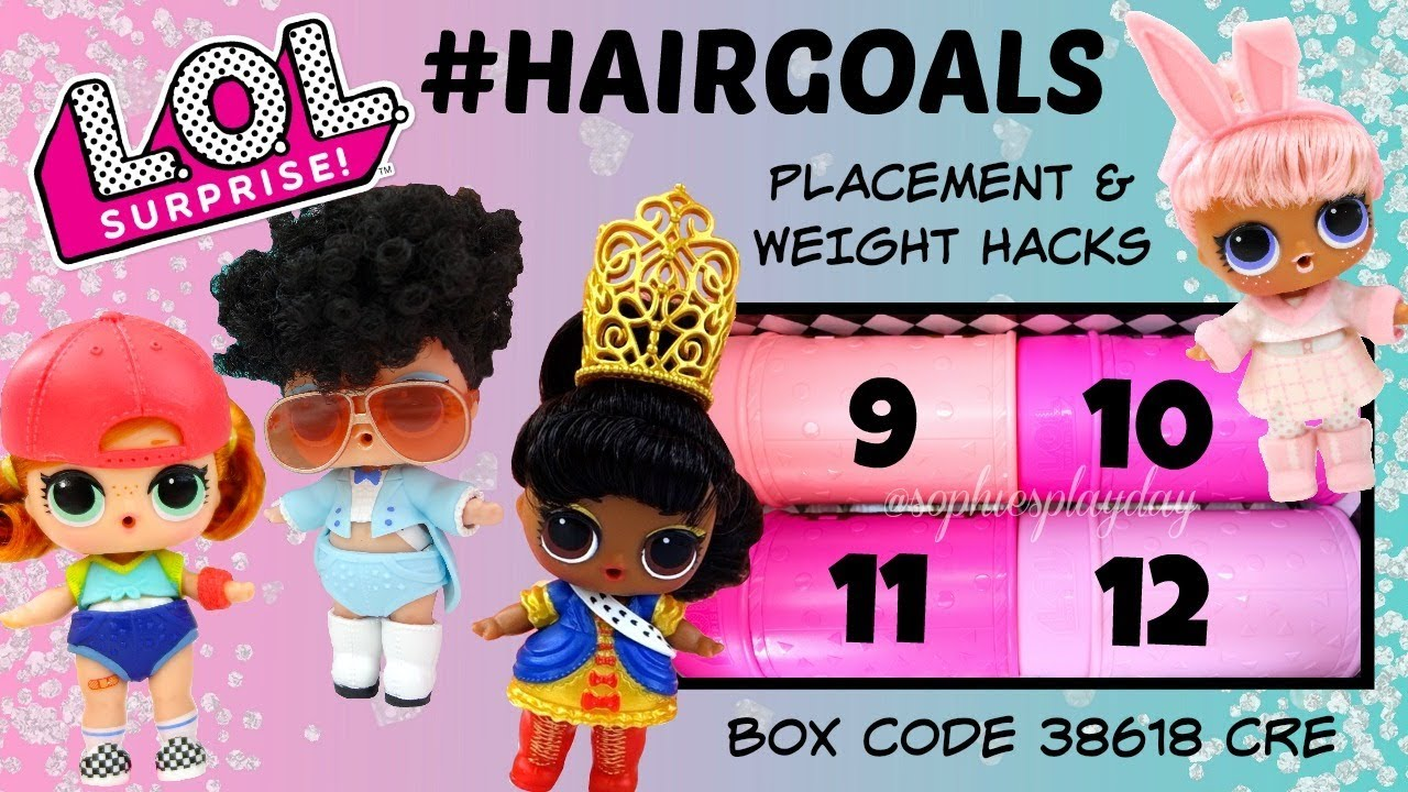 LOL Surprise Series 5 Hair Goals Yang Q.T White Black Hair Big Sister Doll