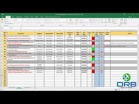 Best Task Managment Template For Excel