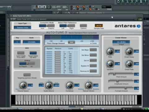 Controlling Autotune via MIDI in FL Studio - YouTube