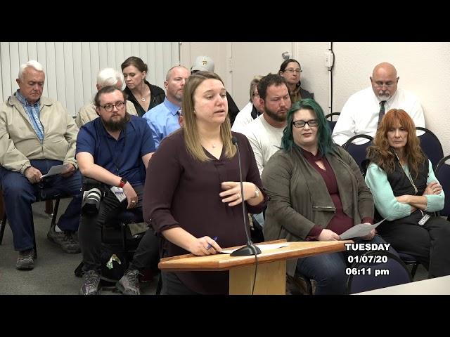 Cottonwood Council Regular Meeting January 7 2020