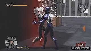 Черная кошка и Человек паук. Всем бы такой поцелуй.[Spider man Web Shadow ]