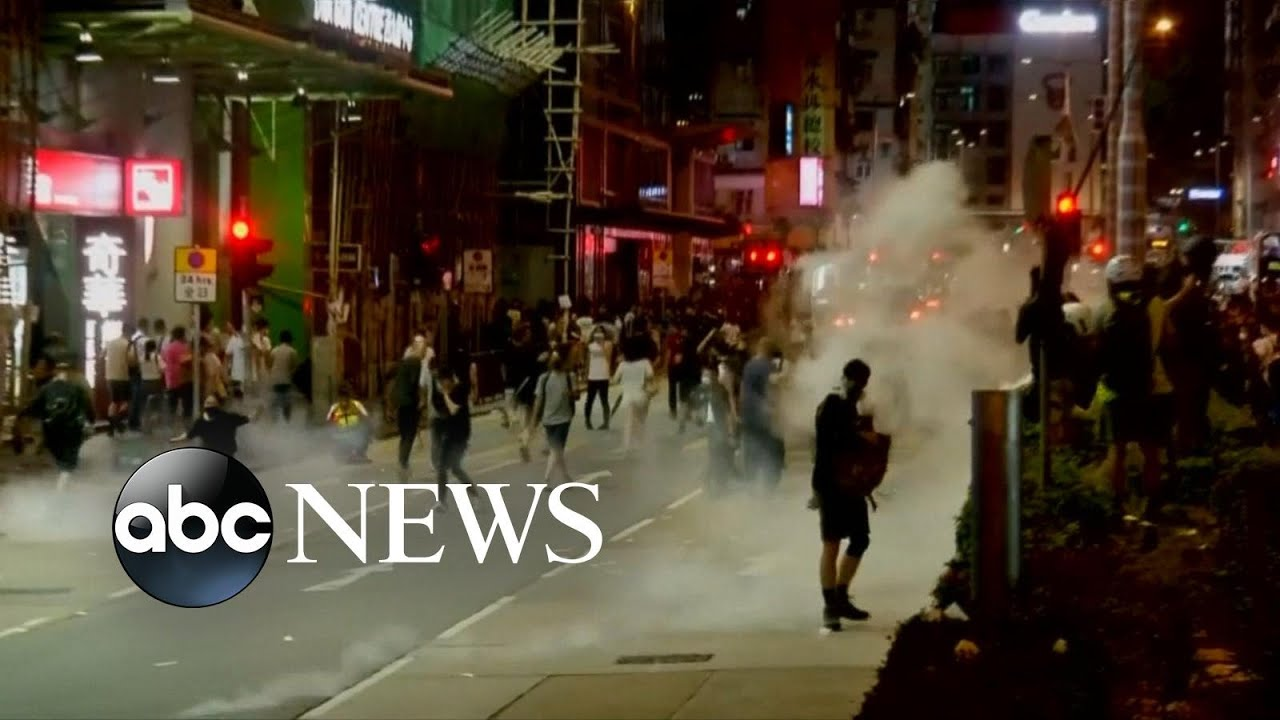 ABC News:Hong Kong unrest continues as civilians hold public rally