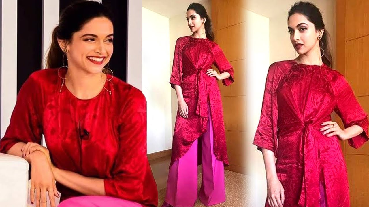 aeebbfc291df Deepika Padukone Looked Ridiculous In Zara During The Launch Of A Mobile  Phone
