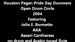 Arabesque Flute Fun- Houston Pagan Pride Drummers