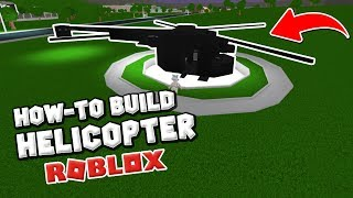 TUTORIAL Helicopter in BLOXBURG | Welcome to ROBLOX Bloxburg