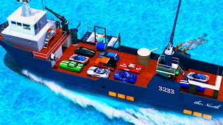 Ship Car Cargo Transport | Android Gameplay | Car Transport Simulation Game