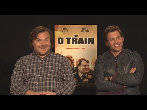 Jack Black and James Marsden Talk 'Kung Fu Panda 3', 'Westworld' and 'The D Train'