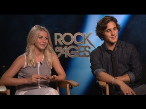 Julianne Hough and Diego Boneta on Rock of Ages Chemistry and Tom Cruise's Impressive Abs